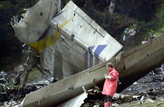 TURKEY CRASH