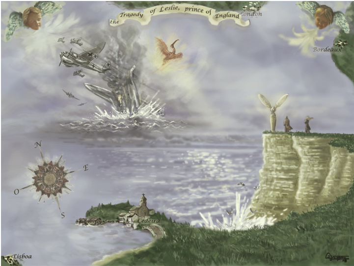illustration of the MEMORIAL, free distribution, author Gon Vázquez