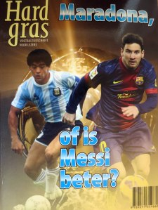 hard gras messi maradona
